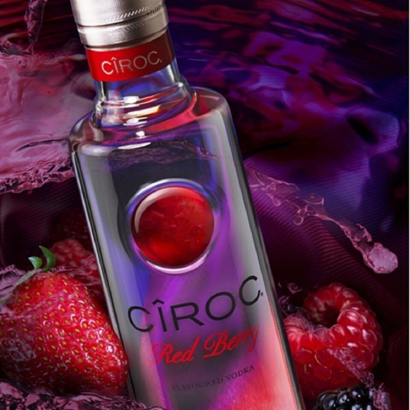 what is good to mix with red berry ciroc